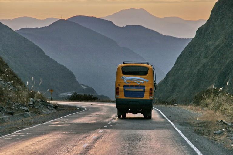 Bolivian bus trip