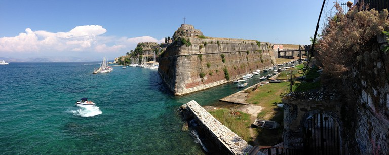 Corfu, the old fortress