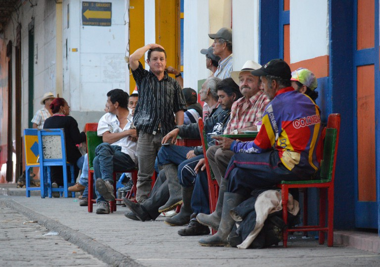 Jardín has a delightfully bustling street atmosphere
