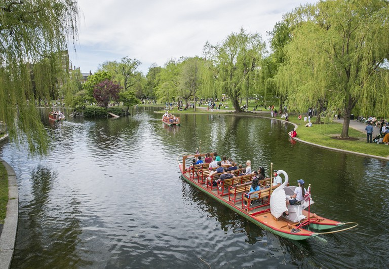 Swan Boats in the Public Garden – Kyle Klein Photography | © Massachusetts Office of Travel & Tourism/Flickr