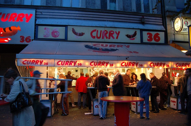 Curry 36, Berlin's most famous food stall