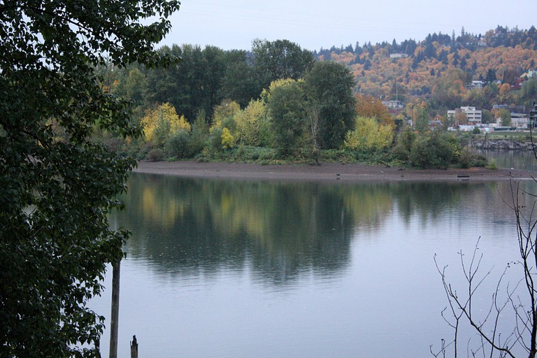 Springwater Trail view
