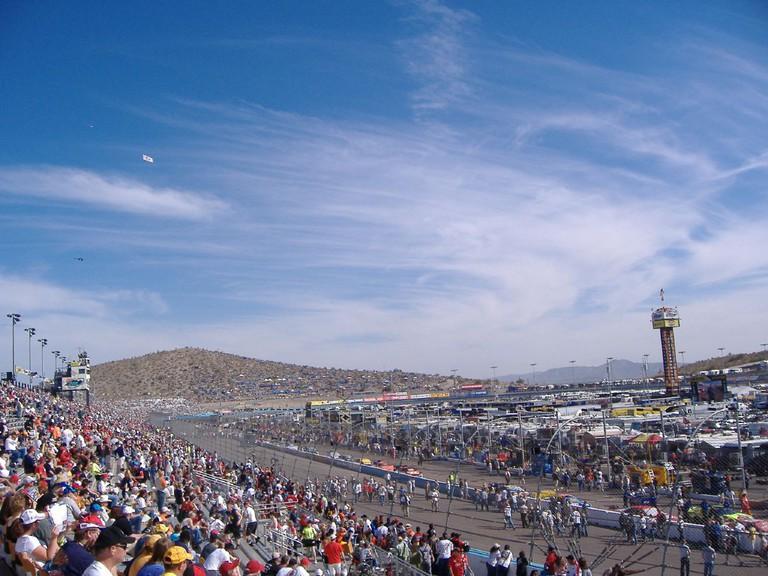 NASCAR rally