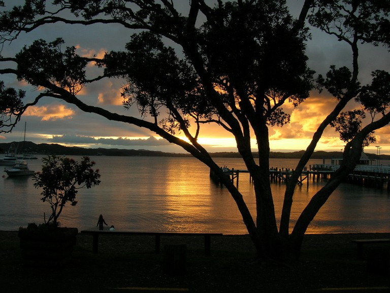 Sunset, Russell, Bay of Islands