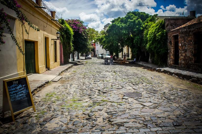Streets of Colonia, Uruguay