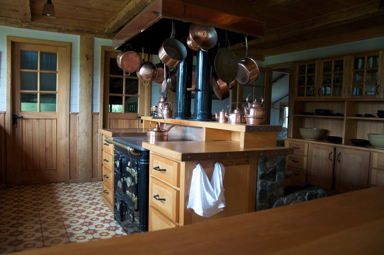 Fundo Reñihue Kitchen
