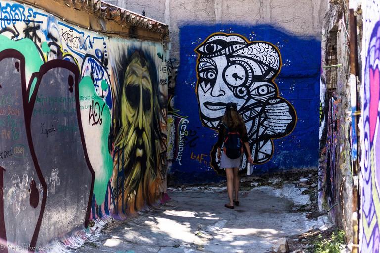 Athens street art | © Serial Hikers / Flickr