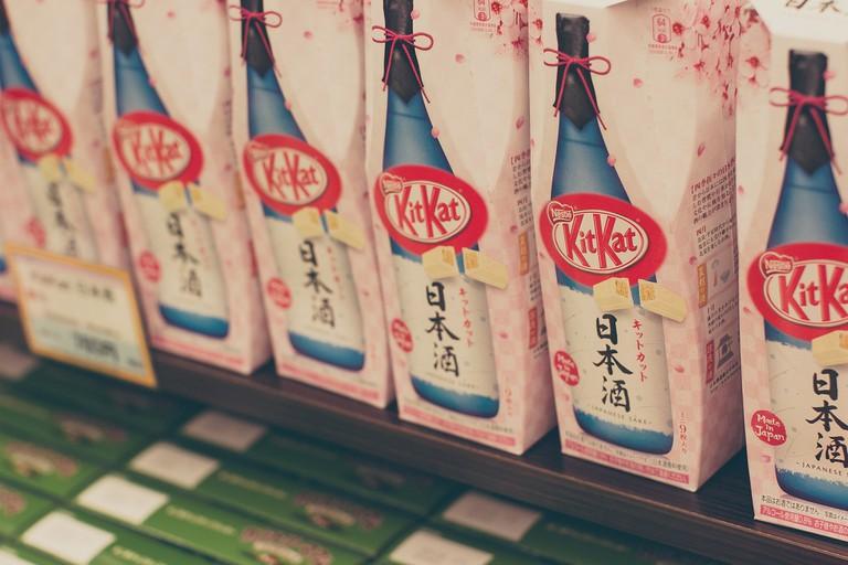 Sake + KitKats = heaven