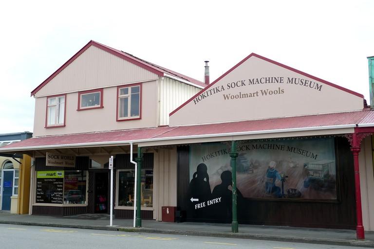 Sock Machine Museum in Hokitika