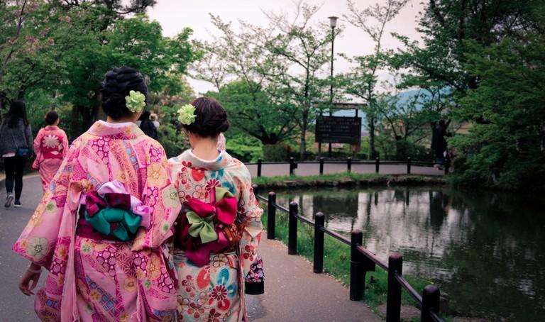 Strolling through Kyoto