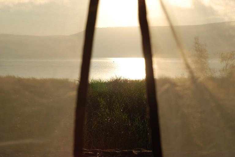 Good morning, Kinneret.  Ⓒ Ishai Parasol/ Flickr