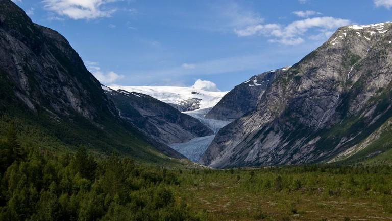 Nigardsbreen Glacier, western Norway