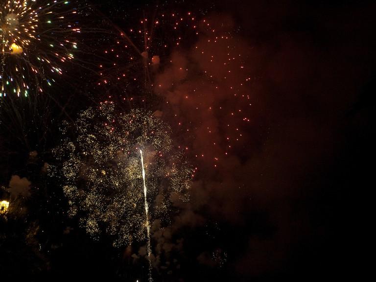 Fireworks at La Mercè festival © Alexandre López