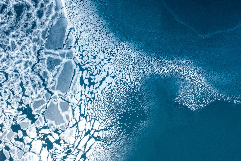 3rd prize winner, Nature, Ice formation in Greenland