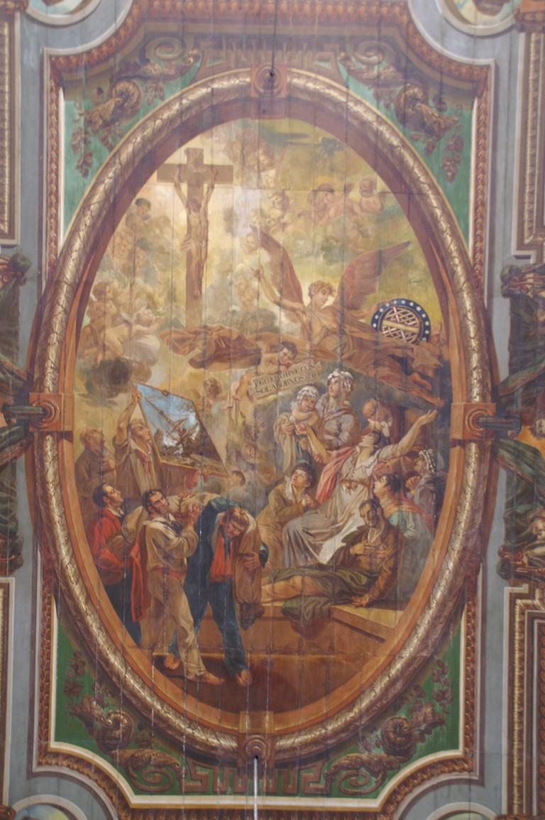 Ceiling of Igreja de Nosso Senhor do Bonfim