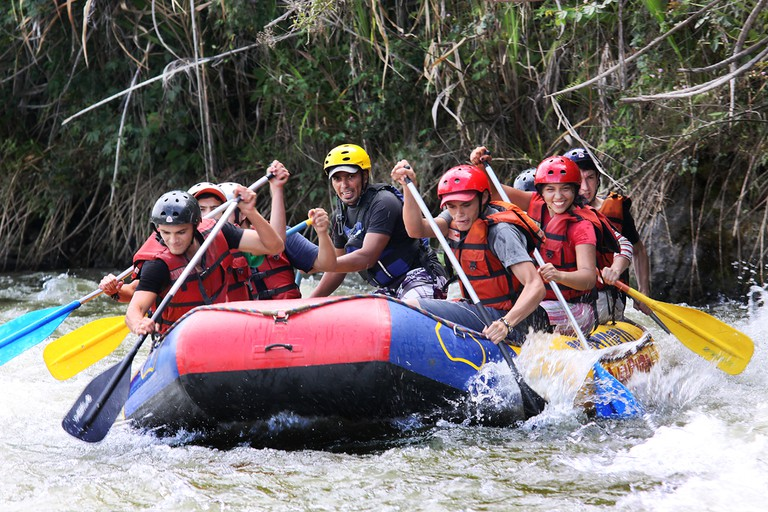 White-water rafting in Colombia I