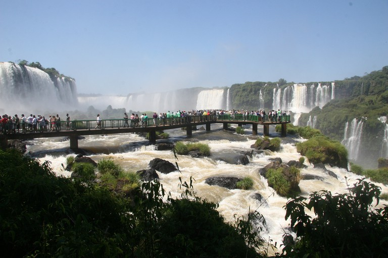 Dramatic waterfalls, Iguaçu
