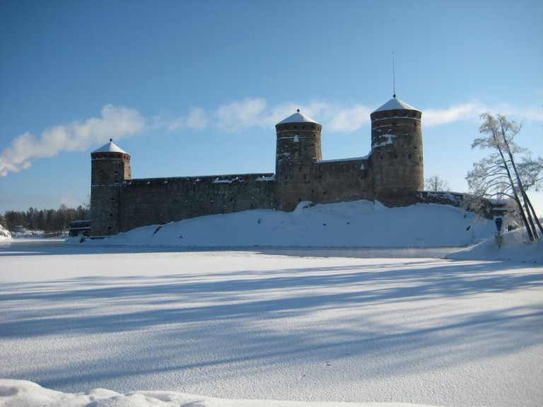 Olavinlinna in winter / Outi-Maaria Palo-oja / Flickr