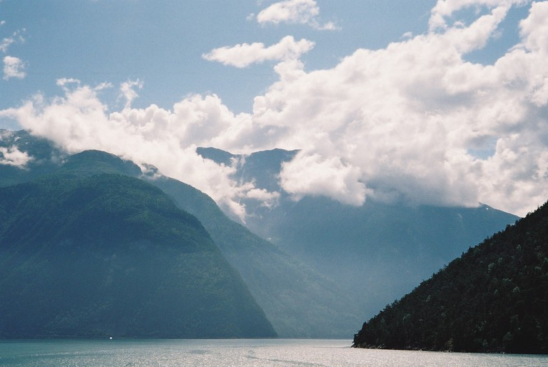 A cloudy day at Sognefjord / Nigel Swales / Flickr