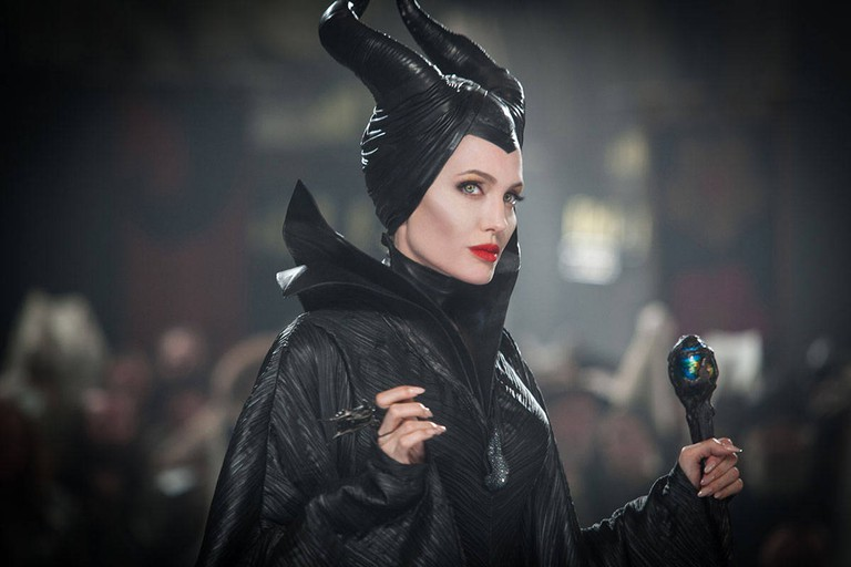Angelina Jolie in the title role of Maleficent (2014)