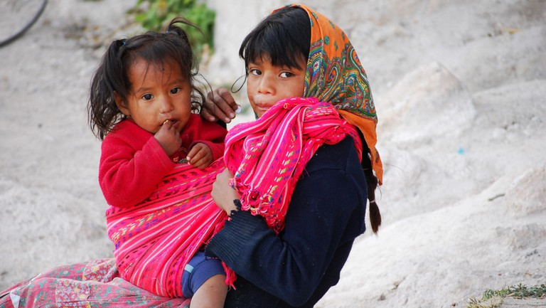 Tarahumara children