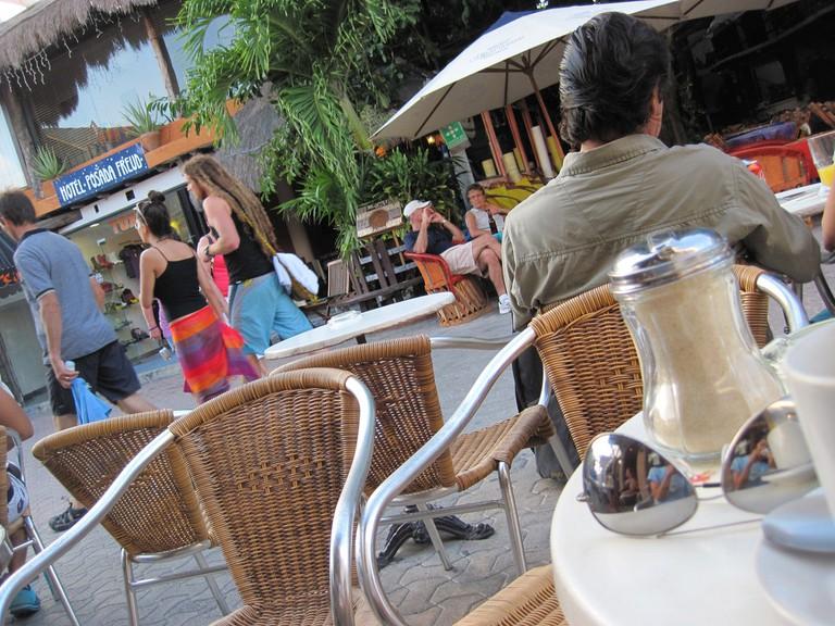 Restaurant on 5th Ave., Playa del Carmen