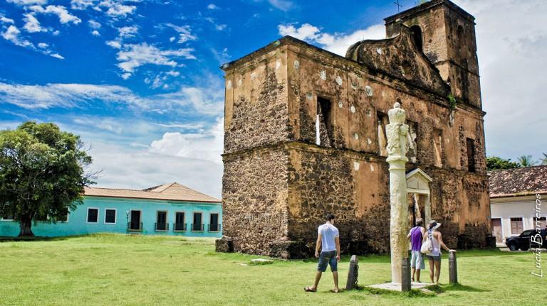 Ruins of the São Matias church in Alcântara I