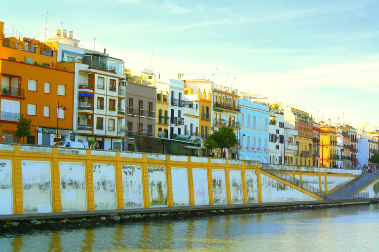 Buildings facing onto the Guadalquivir river, Seville I