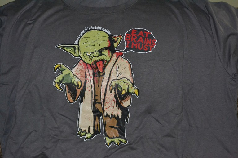 Yoda Zombie is my hero too