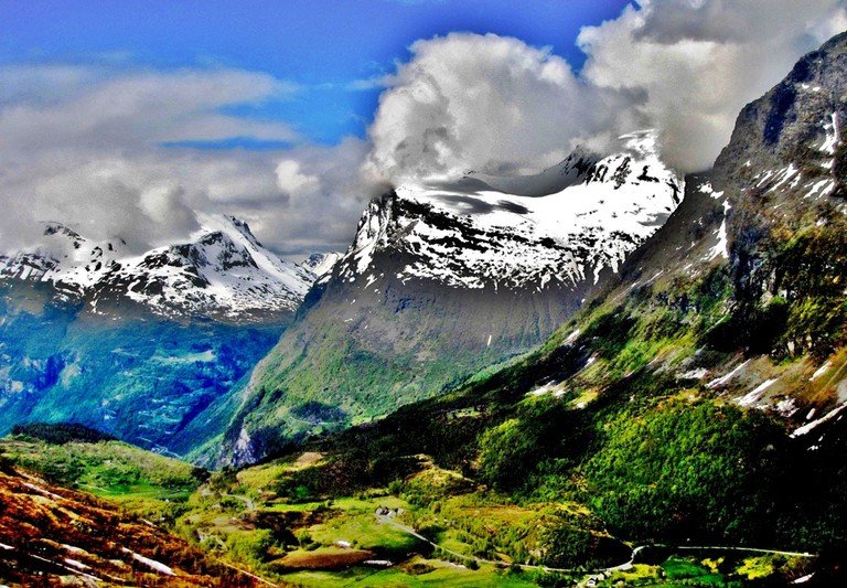 Some rather nice Norwegian mountains