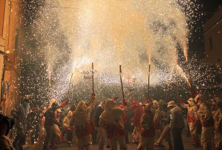 Correfoc celebrations © Aina Vidal / Flickr