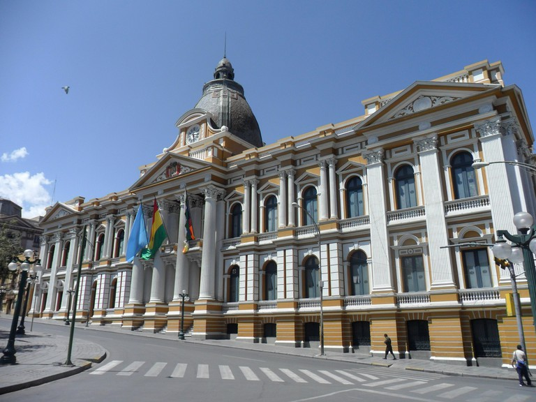 Bolivian House of Congress in La Paz