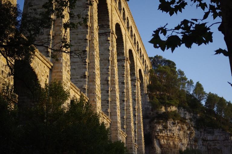 The world's largest stone aqueduct