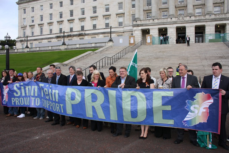 Sinn Féin MLAs calling for marriage equality