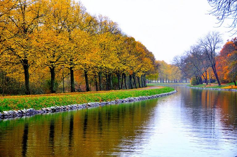 Autumn landscape at Djurgården / Michael (When Night Falls) / Flickr