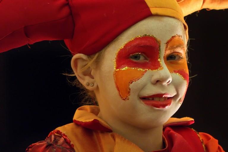 Face paints for carnival © Stewart Black