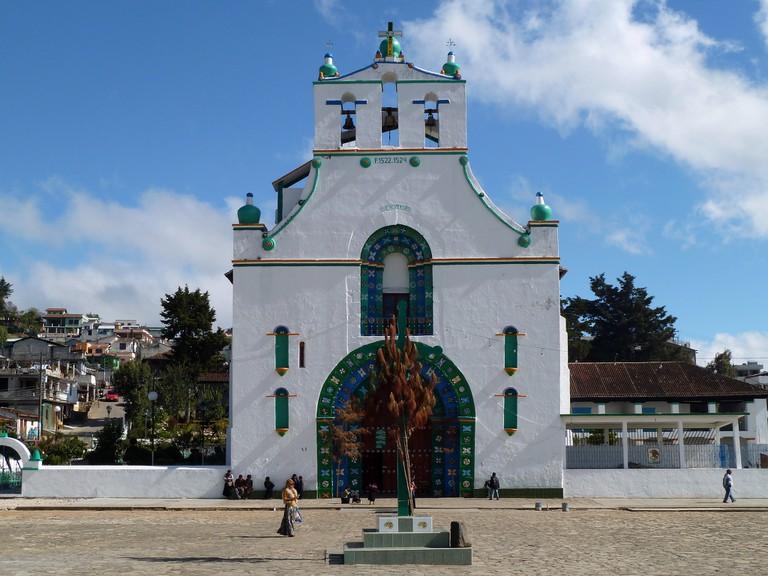 The church of San Juan Chamula