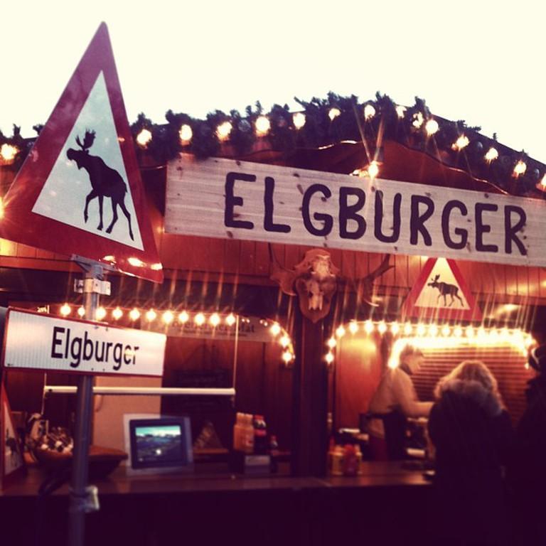 Alternatively, grab a nice Christmas elk burger