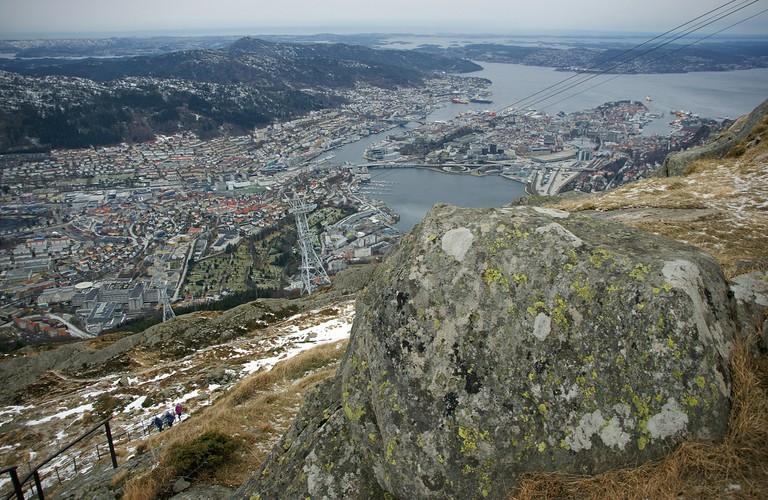 View from Mount Ulriken, Bergen
