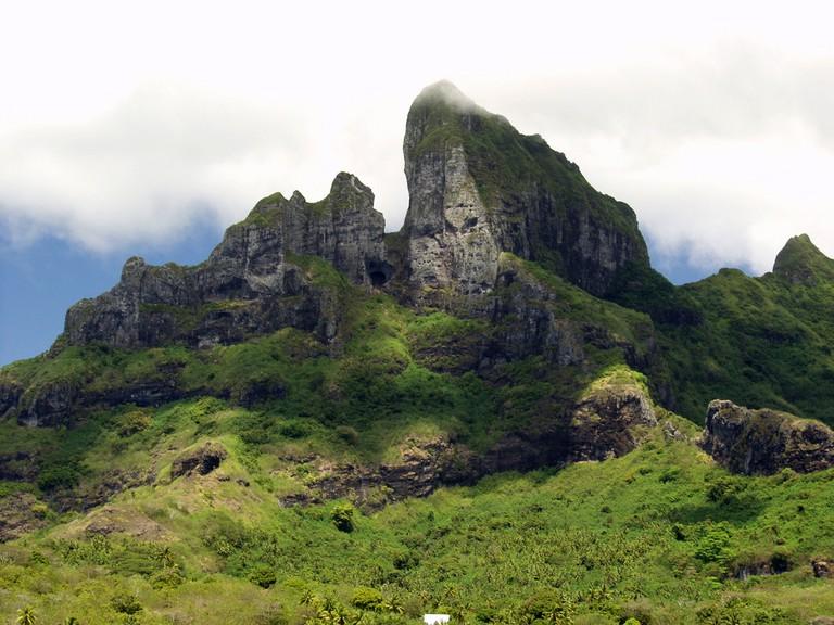 Mt Otemanu