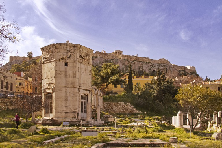 The Tower of the Winds, Athens