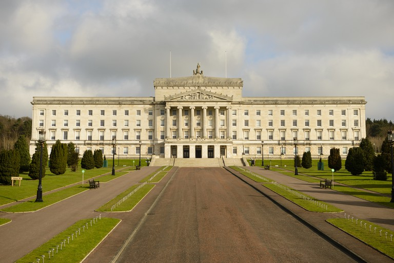 Stormont Castle, the seat of the NI Assembly