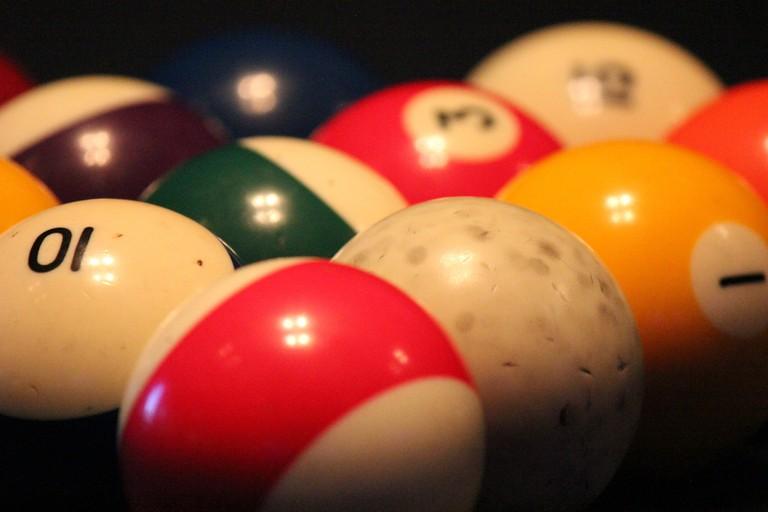 Play some pool at The 49er Inn