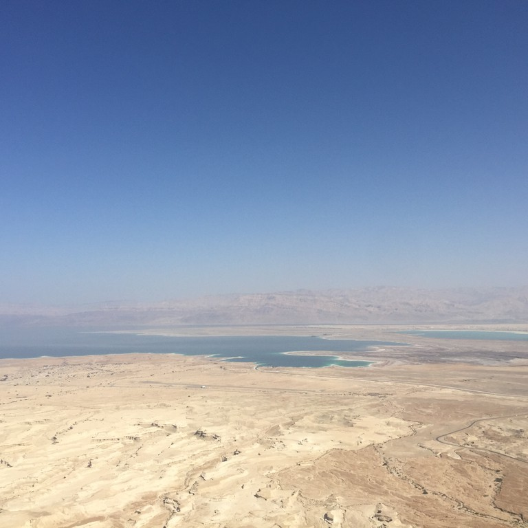 View from the top of Masada. ⒸBecca Gomby