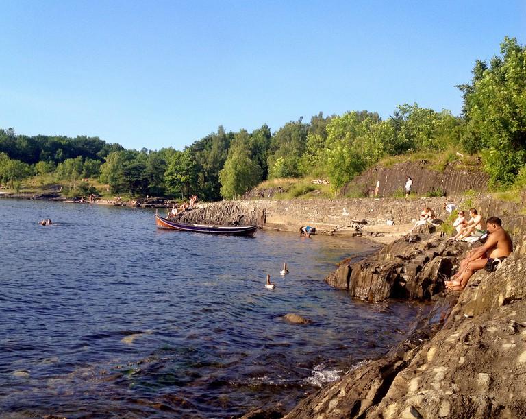 Summer at Hovedøya