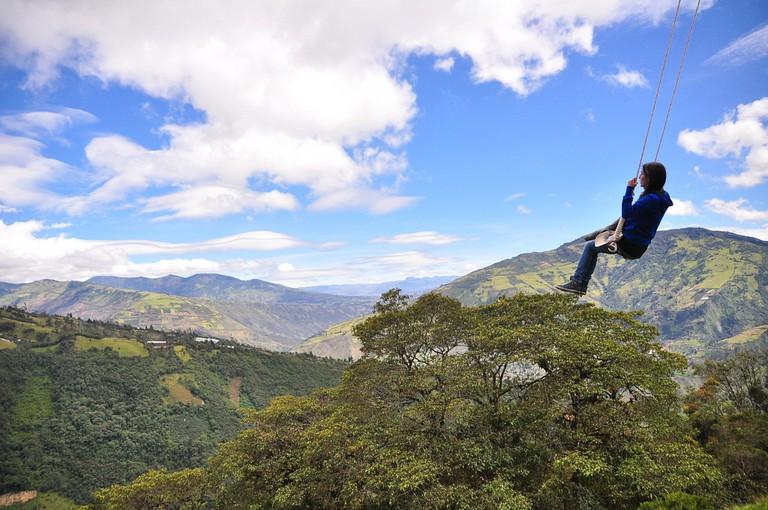 Swing, Baños, Ecuador