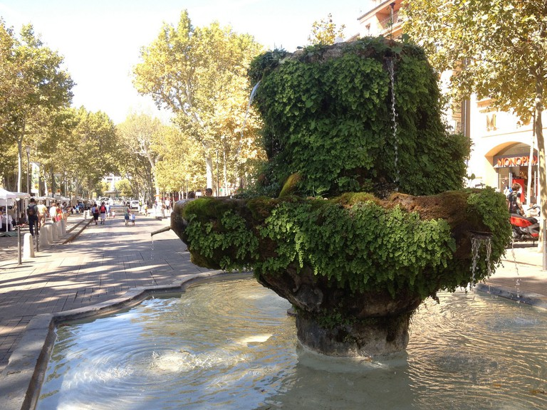 "Aix is the ""city of 1,000 fountains"""