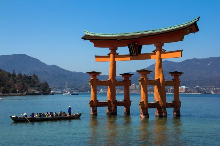 UNESCO World Heritage Site Itsukushima Shrine