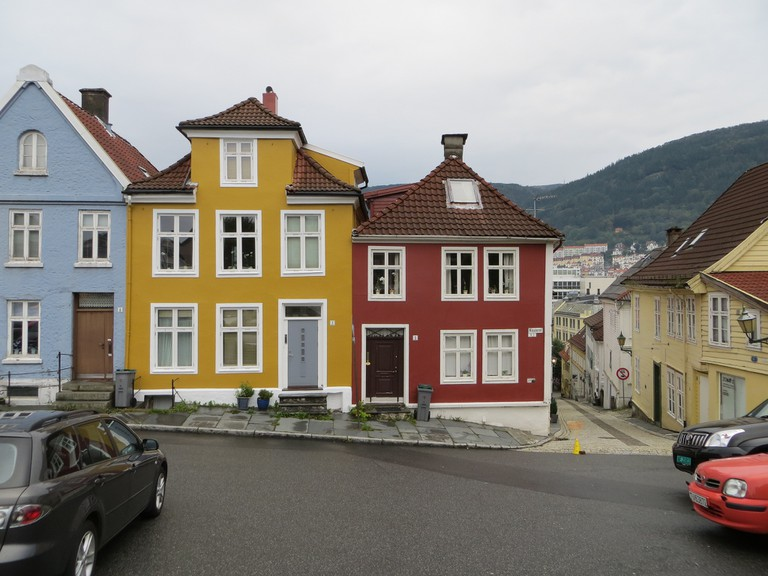 Houses in Klosteret, Nordnes