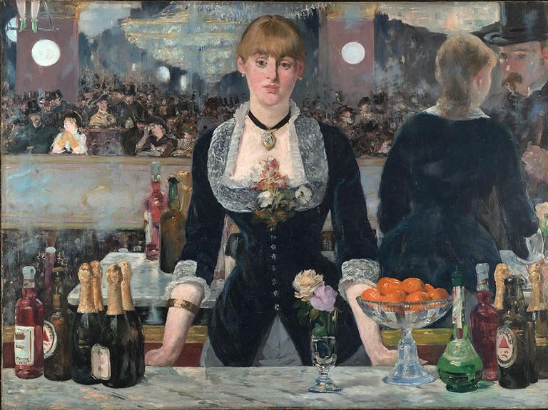 'A Bar at the Folies-Bergere', Édouard Manet, 1881-2 | © The Samuel Courtauld Trust, The Courtauld Gallery, London